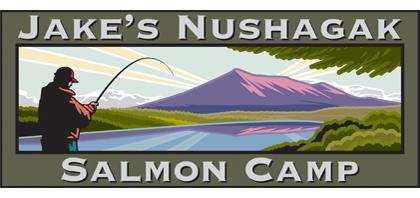 Jakes Nushagak Salmon Camp Retina Logo